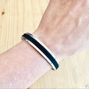 Elegant Bangle Hair Tie Bracelet